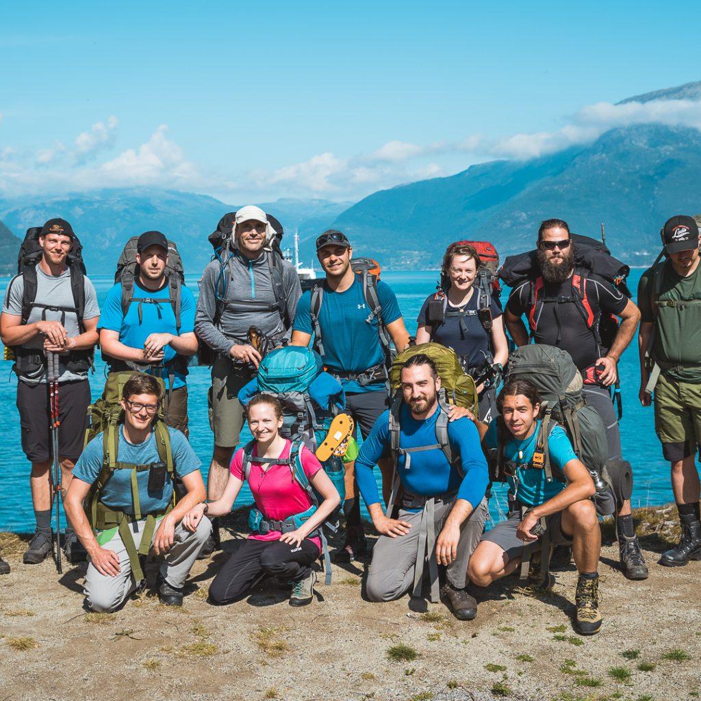 Team FernWind Norwegen Trekking Tour 2019