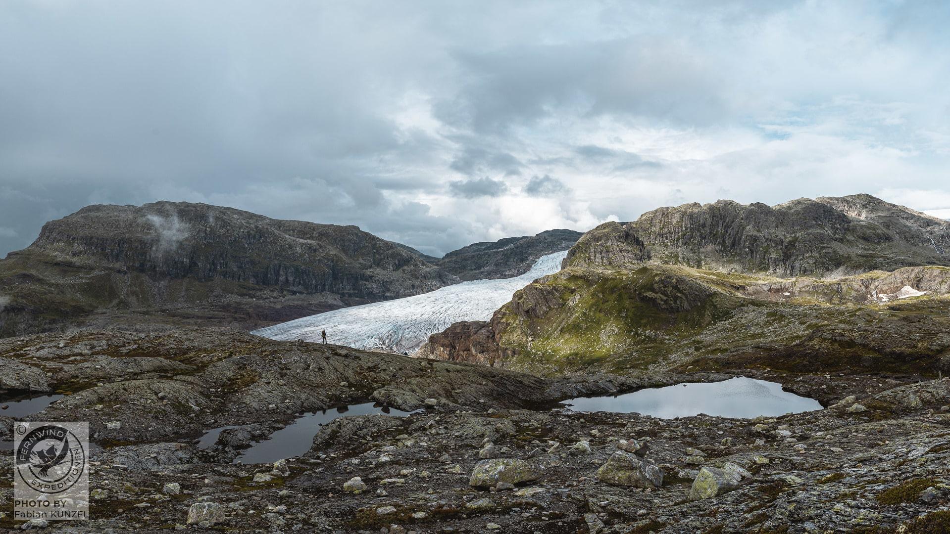 Fernwind norwegen Trekking Hardangervidda