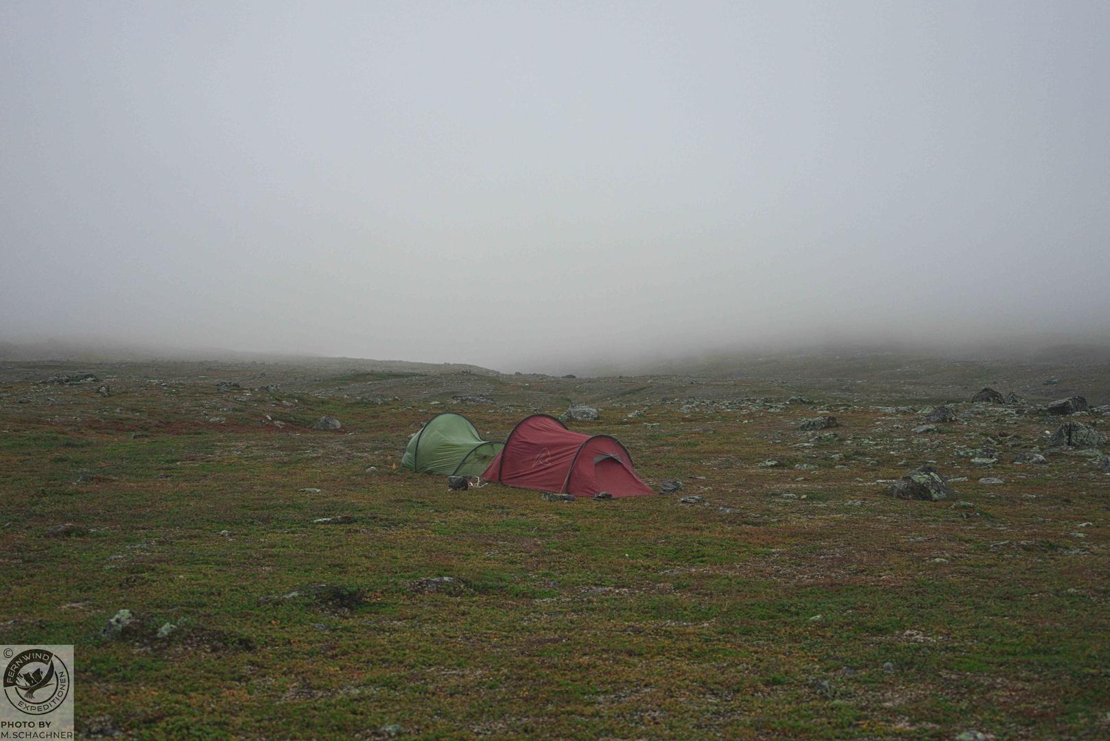 fernwind schweden sarek scouting trekking expedition Zeltplatz