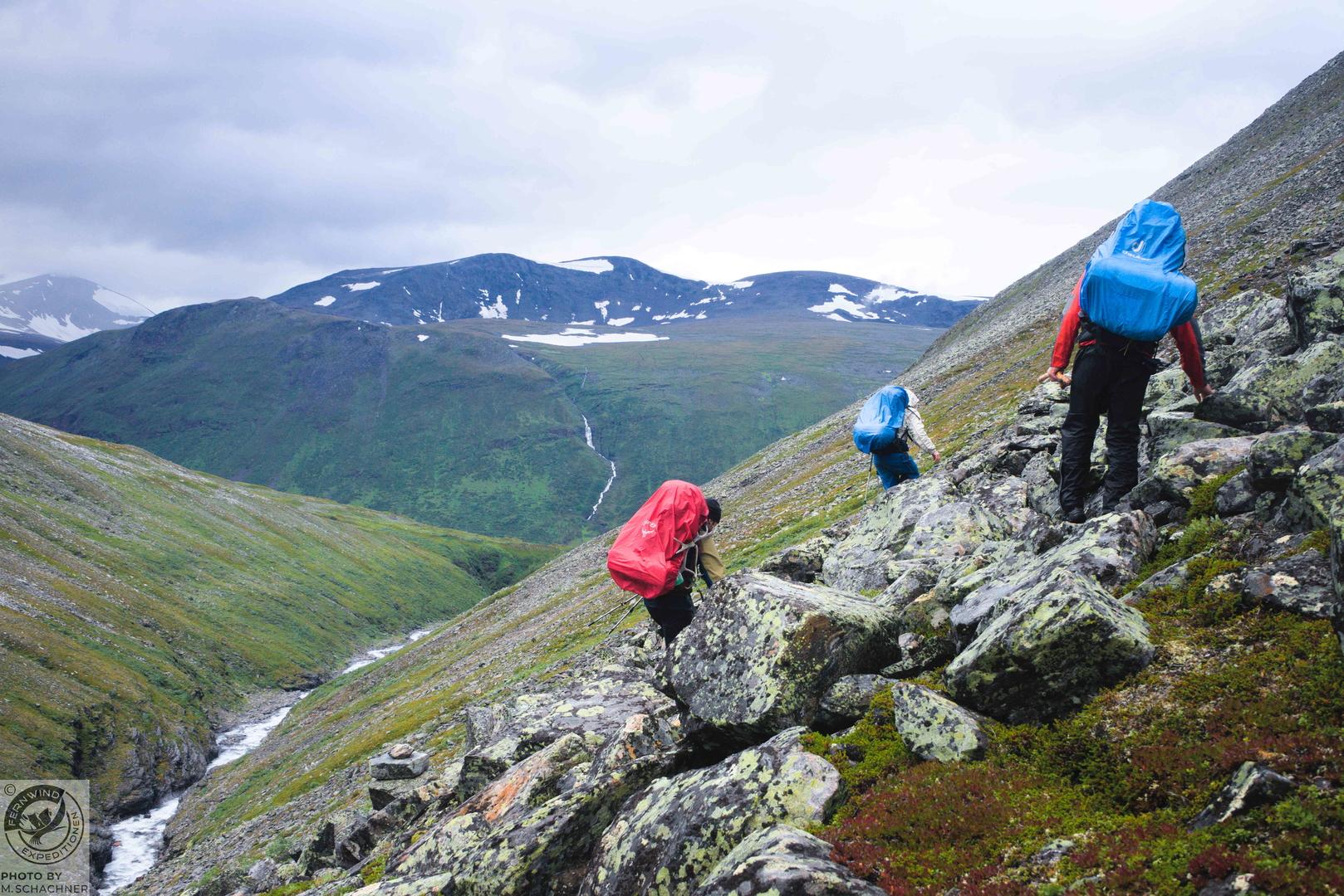 fernwind schweden sarek scouting trekking expedition