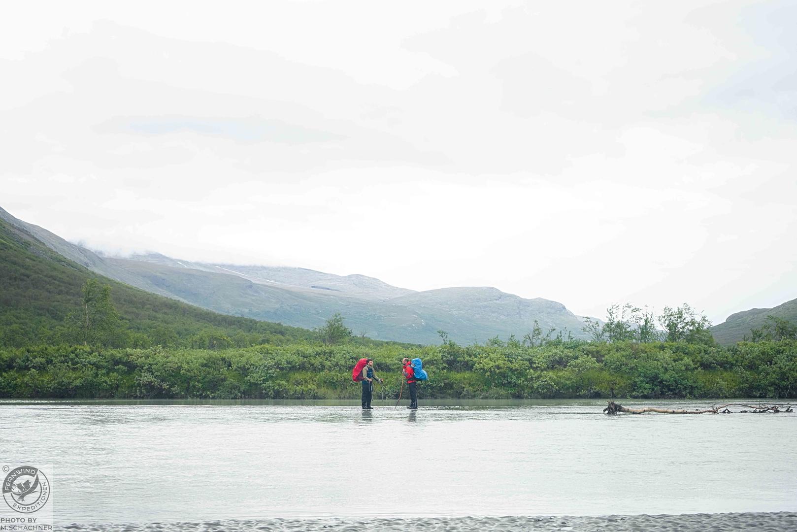fernwind schweden sarek scouting trekking expedition Rapaädno