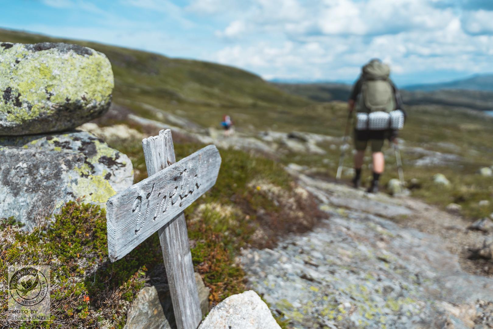 norwegen Trekking Hardangervidda