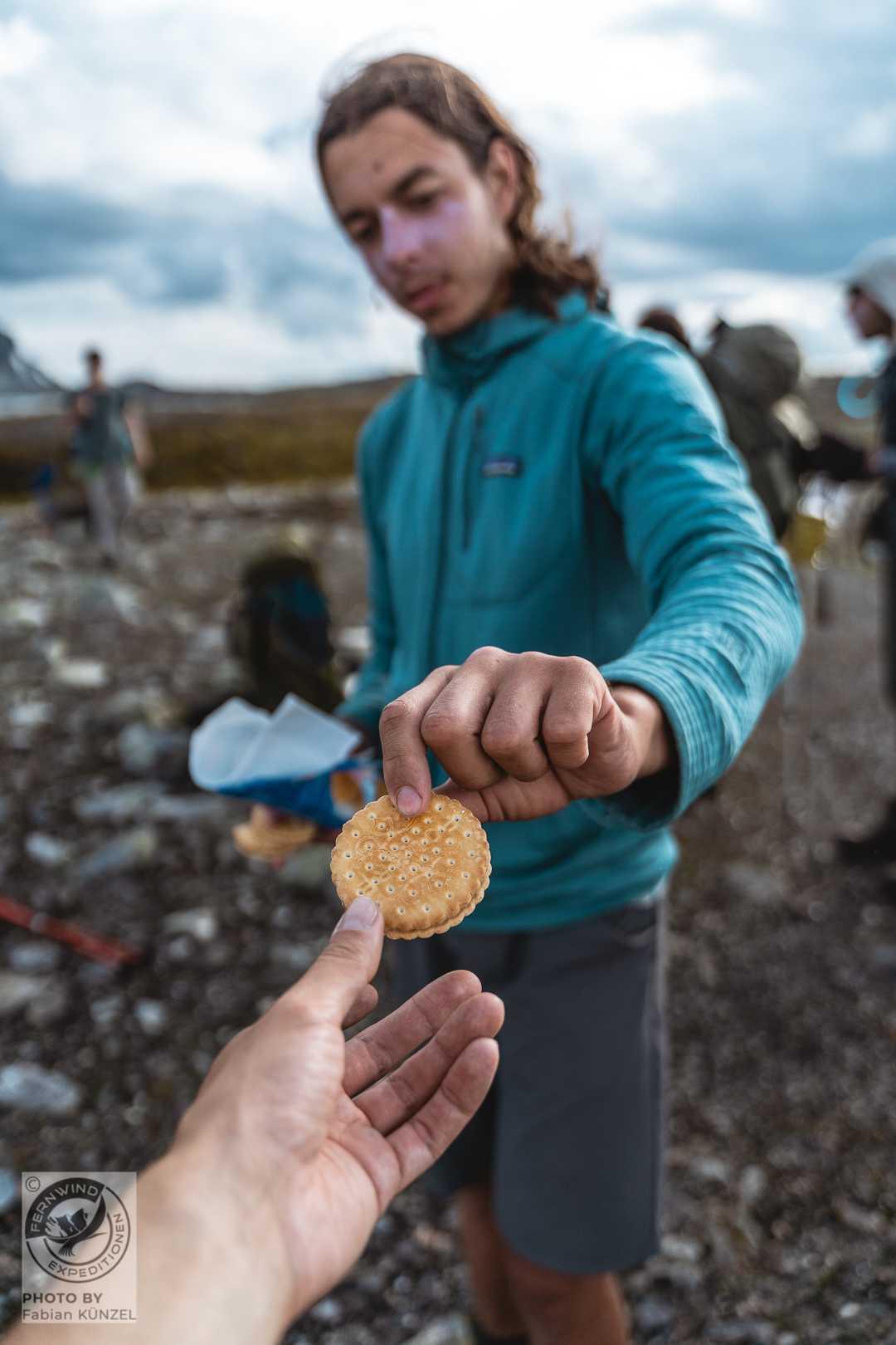 Energie auf Tour - Moritz reicht ein Keks