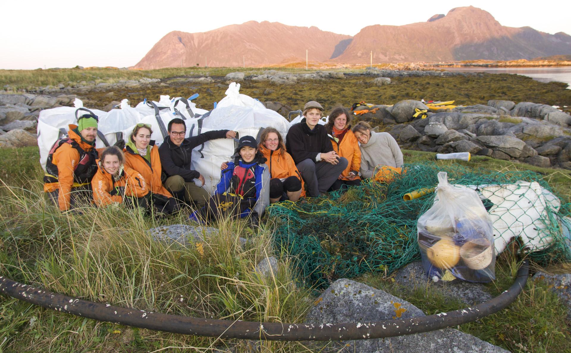 Norwegen Lofoten Kajak Team
